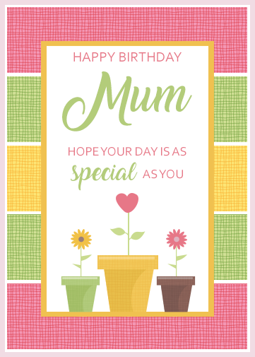 Email Birthday Cards for Mum