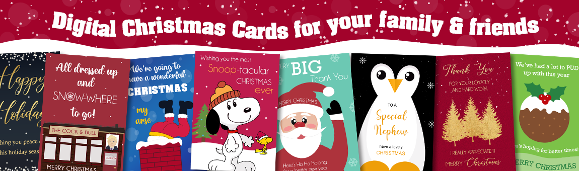 christmas cards you can personalise and send online