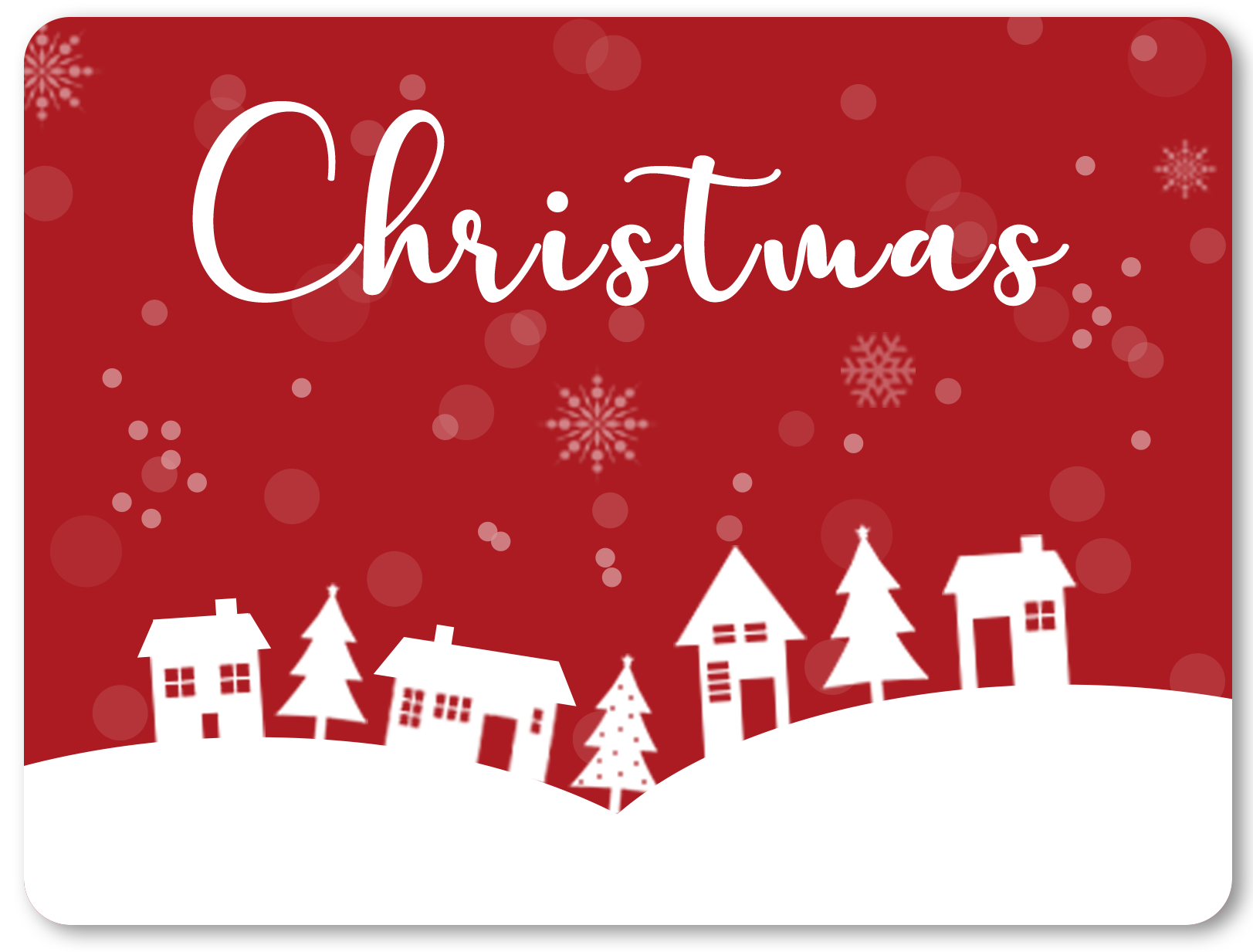 email a christmas card